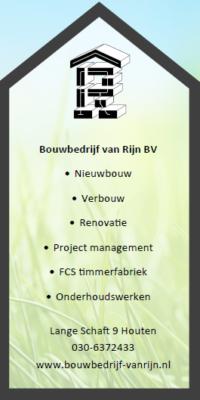 Installatietechniek Rijnhuis werkt samen met Bouwbedrijf van Rijn om al uw duurzame oplossingen te realiseren